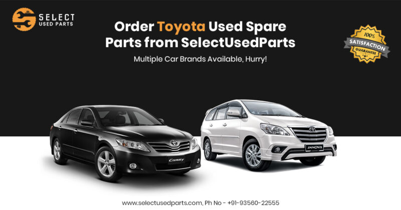 used auto parts toyota
