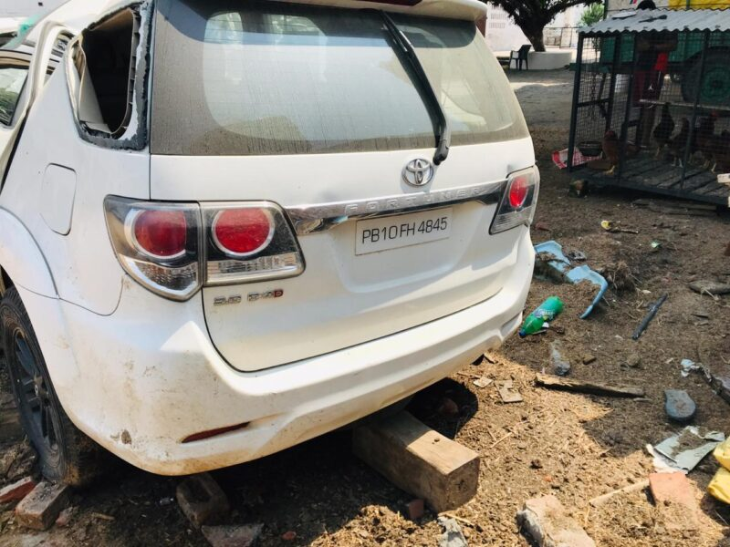 salvage toyota fortuner