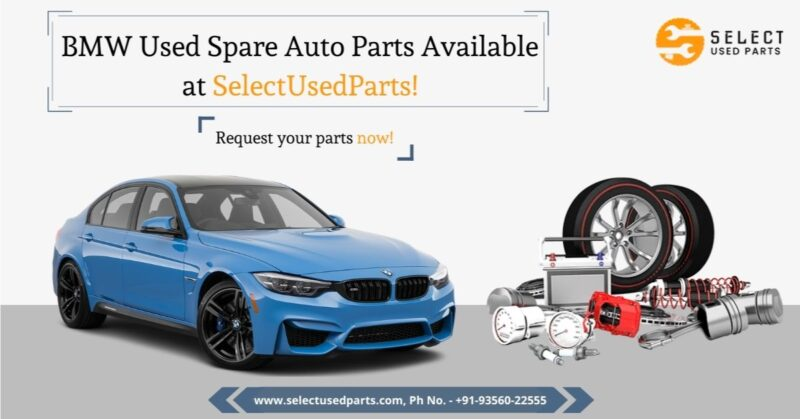 BMW used spare car parts