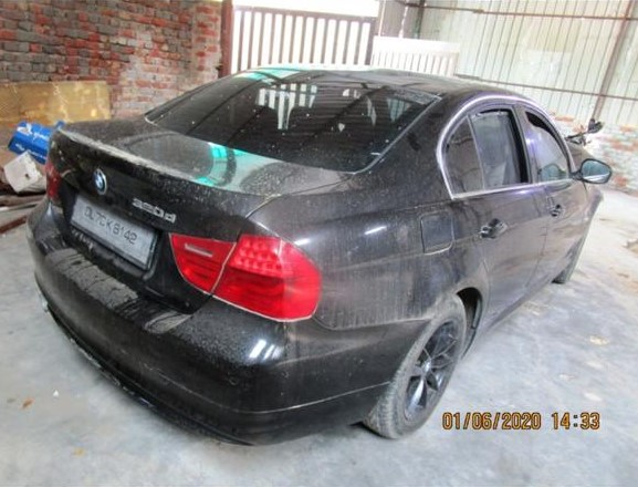 bmw 3 series salvage 320d
